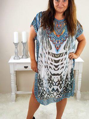 kenya plussize kjole blå chicwear.dk.jpg