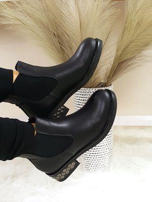jersey chunky boot sort chicwear.dk.jpg