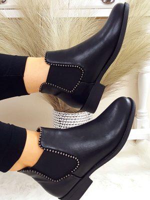 milano ankel støvler sort chicwear.dk.jpg