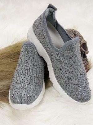 slipOn sneakers graa chicwear.dk.jpg