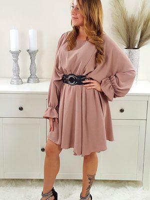 tunika kjole rosa chicwear.dk.jpg