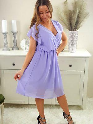 malina chiffon kjole lilla chicwear.dk.jpg