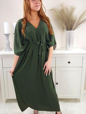 samara oversize kjole khaki chicwear.dk.jpg