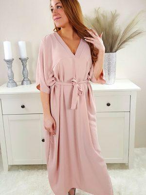 samara oversize kjole rosa chicwear.dk.jpg
