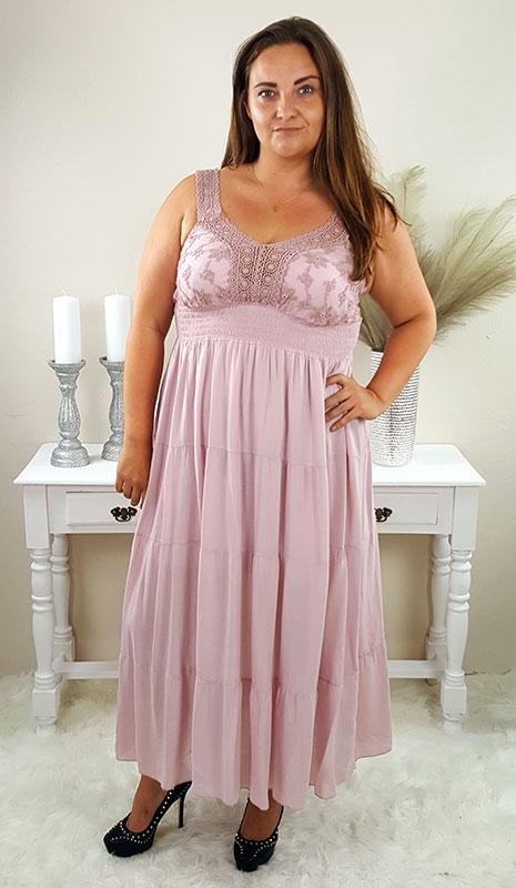 collina plussize kjole rosa chicwear.dk.jpg