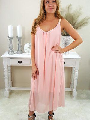 athene sommerkjole rosa chicwear.dk.jpg