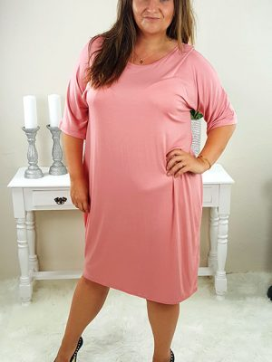 mila plussize kjole rosa chicwear.dk.jpg