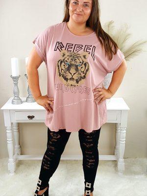 tiger tshirt rosa chicwear.dk.jpg
