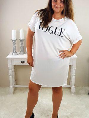 vogue tshirt kjoler hvid chicwear.dk.jpg